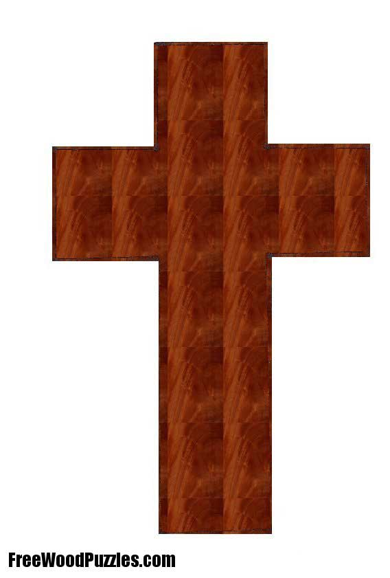 Wooden Cross Design - PDF Plans 8x10x12x14x16x18x20x22x24 DIY ...